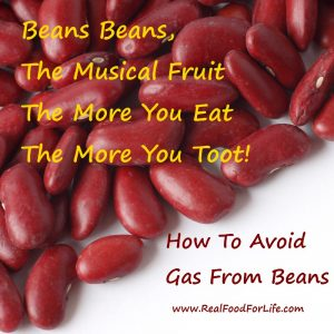 how to cook beans to avoid gas