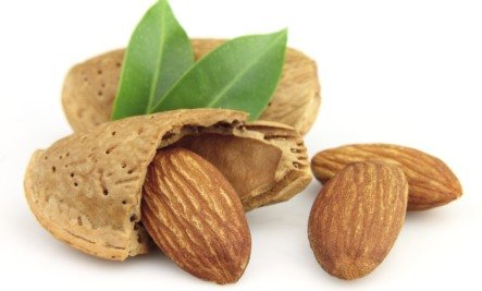 almonds - alkaline nut and protein