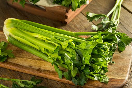 Raw Organic Green Celery