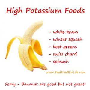 high potassium foods list pdf