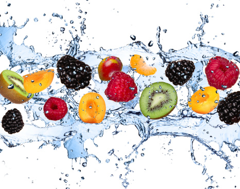 High water content fruits and vegetables are the gateway to health.