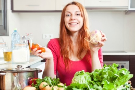 Many health professionals recommend a diet high in fruits and vegetables for better health.