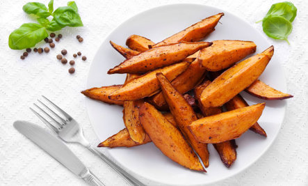 sweet potato fries from care 2