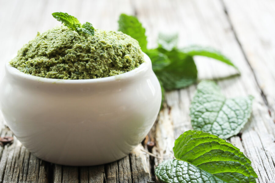 Fresh Peppermint Pesto Is So Tasty on Pasta