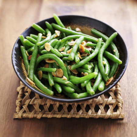 Delicious Green Beans with Almonds