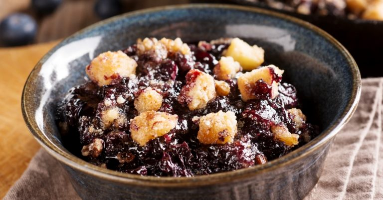 Delicious Blueberry Crumble Recipe