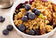 Photo of Blueberry Crumble Is Delicious And Very Healthy