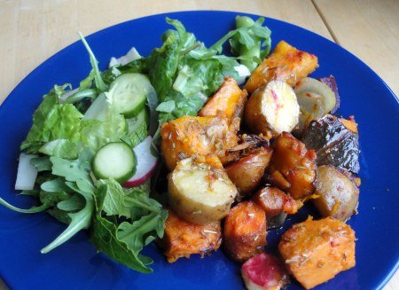 Photo of Baked Squash with Vegetables