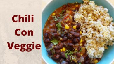 Photo of Vegan Chili Recipe That is So Yummy