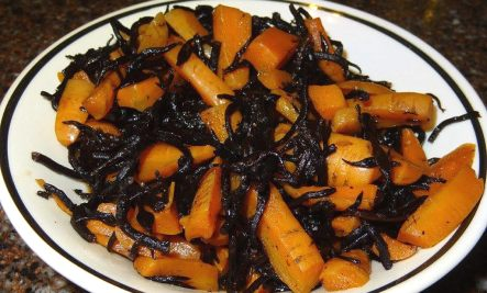 carrots with arame recipe