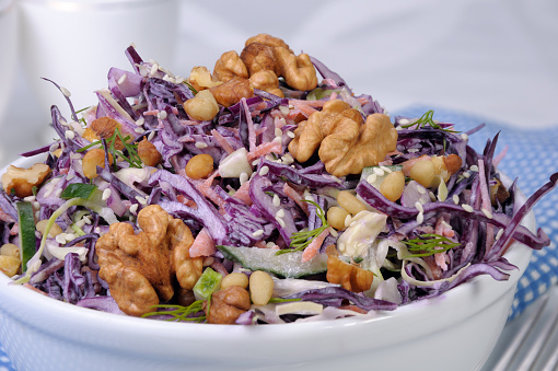 Photo of Cabbage Walnut Salad Recipe Is Full of Healthy Benefits