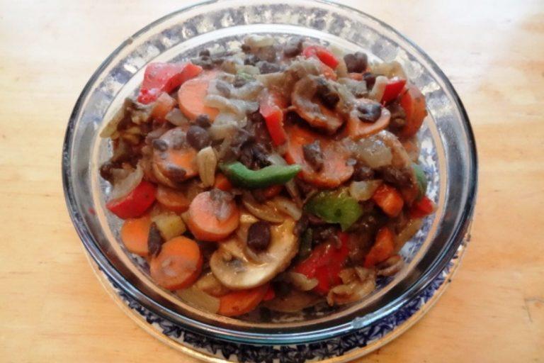 Adzuki Vegetable Bean