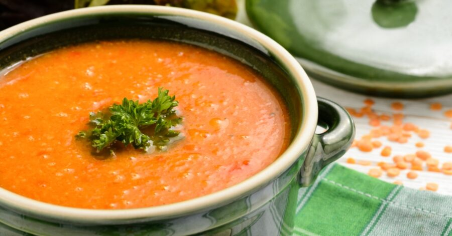 Photo of Red Lentil Soup Recipe Is Healthy and Delicious