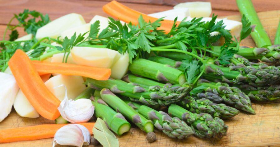 White Bean Asparagus Stew