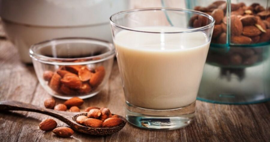 make almond milk recipe