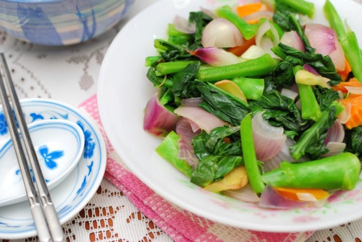 Delicious Chinese Vegetables for Dinner