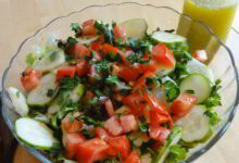 Photo of Light Lemon Olive Oil Salad Dressing