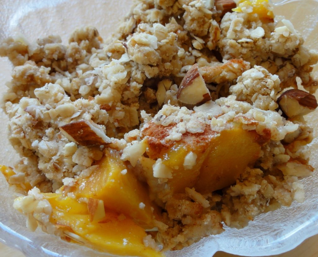 Deluxe Mango Crumble