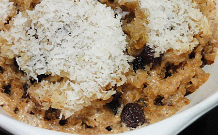 Photo of Quinoa Coconut Almond Porridge – Sugarless
