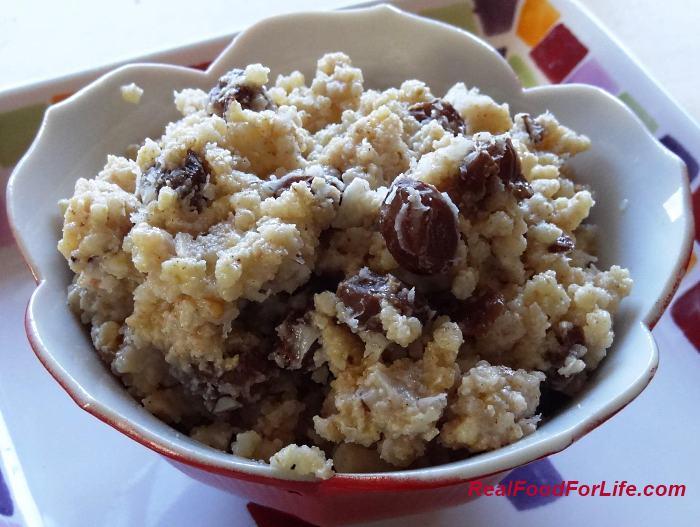 Deluxe Quinoa Pudding (vegan & gluten free)