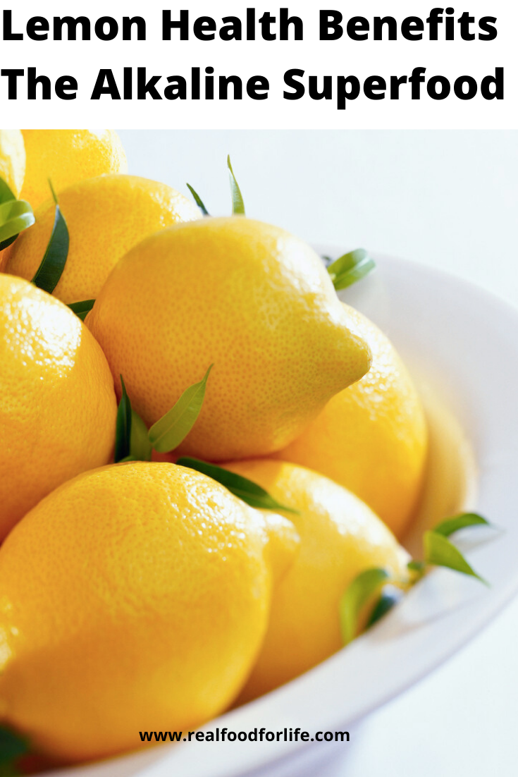 Health Benefits Lemons