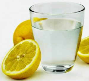 glass of water with lemon for your health