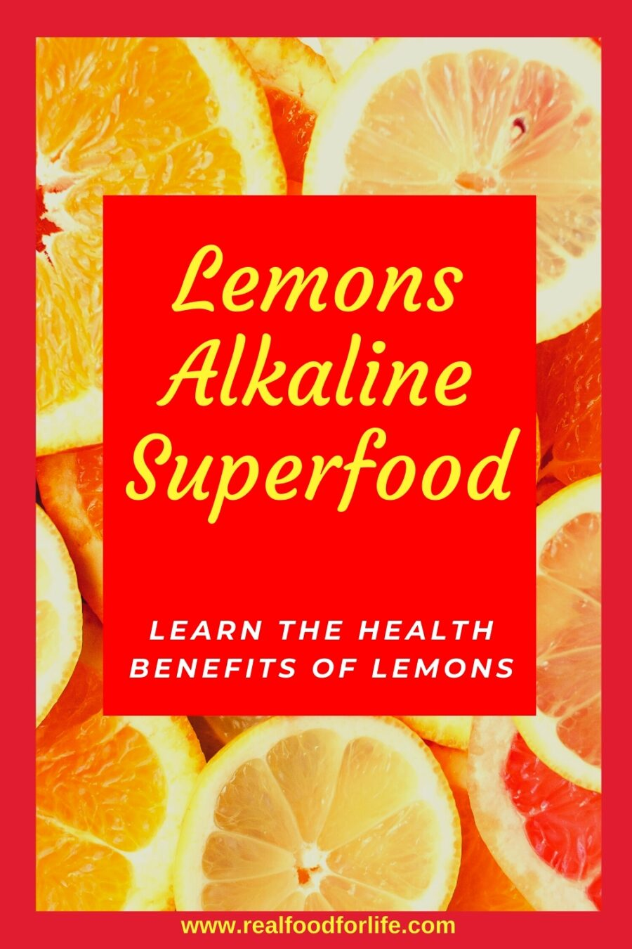 Health Benefits Lemons