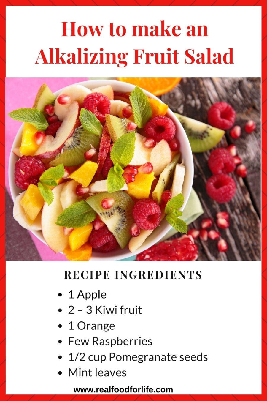 Alkalizing Fruit Salad