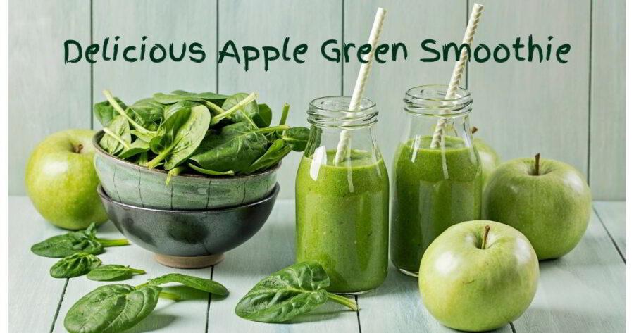 Orange Green Smoothie