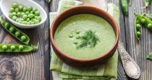 Quick Pea Soup