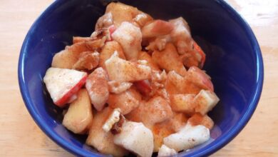Photo of Cinnamon Pear Apple Fruit Salad Is Simple and Tasty