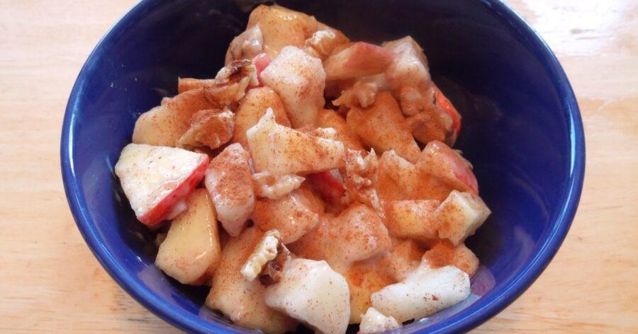 Cinnamon Pear Salad