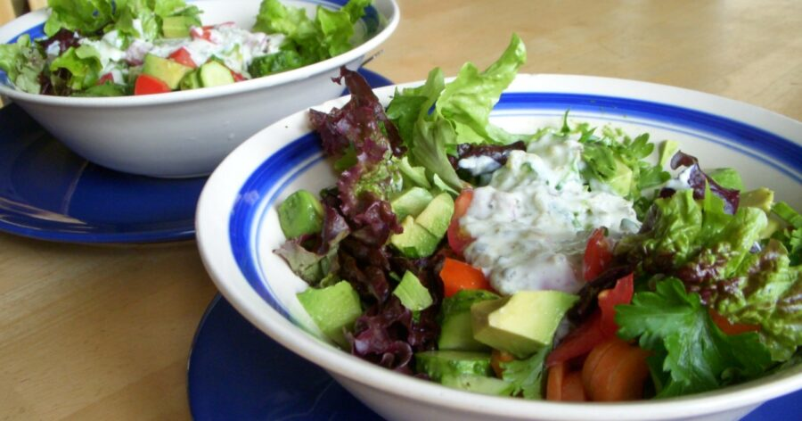 Vegan Yogurt Salad Dressing