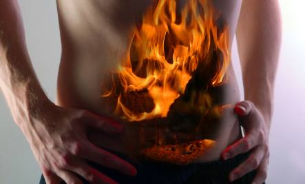 burning stomach - leaky gut syndrome