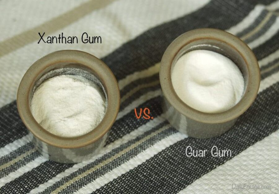 Photo of Baking with Guar gum and Xanthan gum