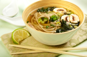 Soba Soup – a Japanese Favourite
