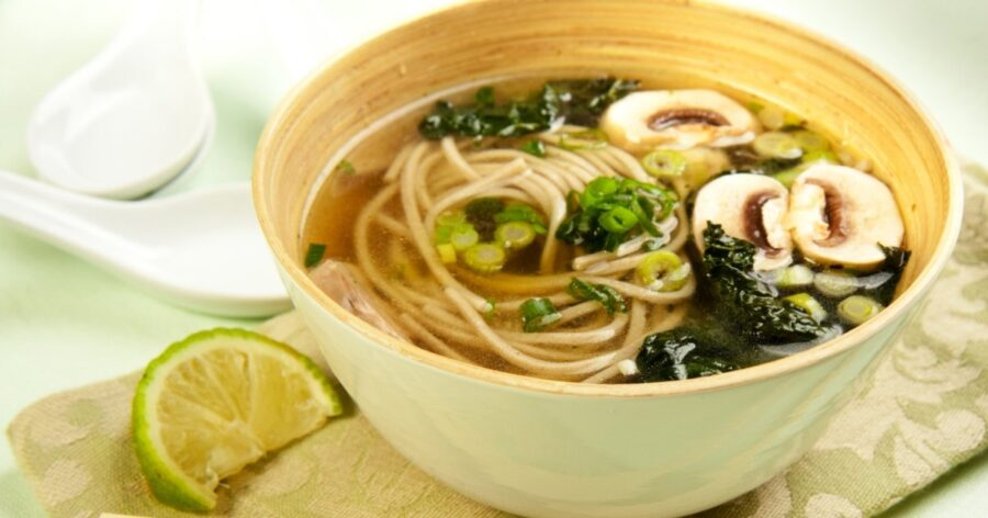 Photo of Soba Soup – a Japanese Favourite