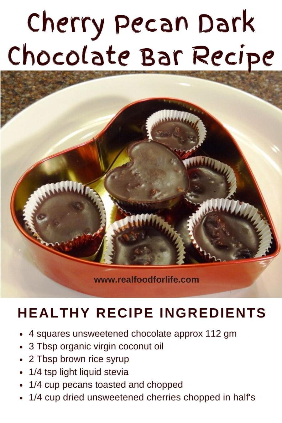 Recipe Cherry Dark Chocolate