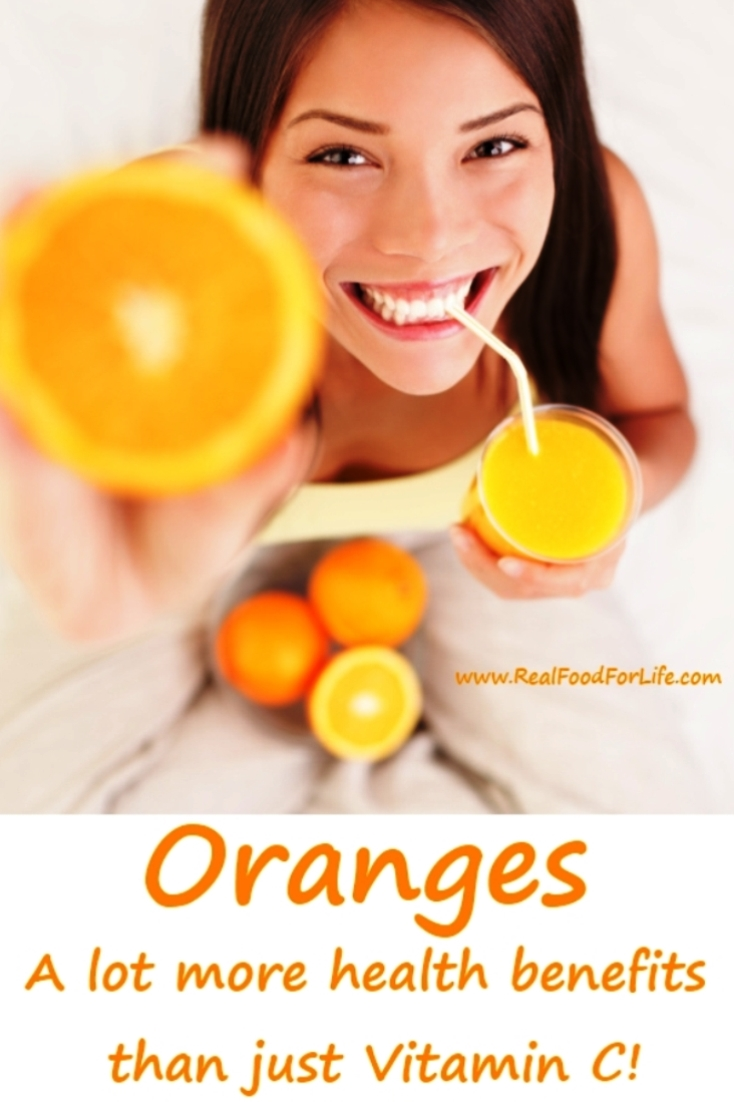 Oranges Healthy