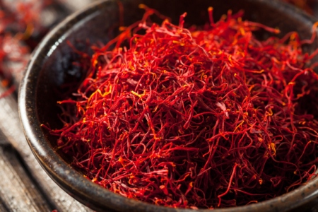 Raw Organic Red Saffron