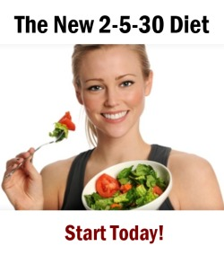 2-5-30 diet start today