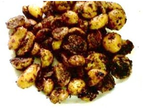 tangy baby potatoes recipe