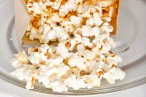 Microwave popcorn is loaded with unhealthy chemicals.
