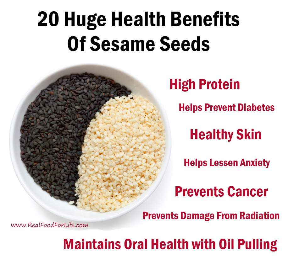 20 Huge Health Benefits of Tiny Sesame Seeds
