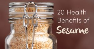 sesame health benefits