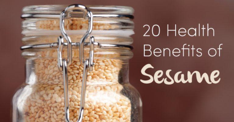 sesame health benefits