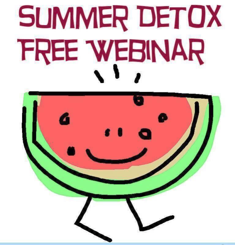 Free Webinar Summer Cleanse