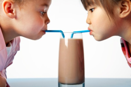 Chocolate milk is NOT a health food the the government promotes it as so.