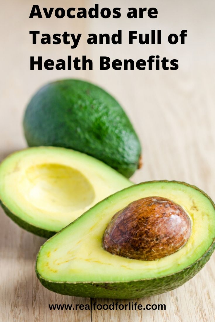 health benefits avocados