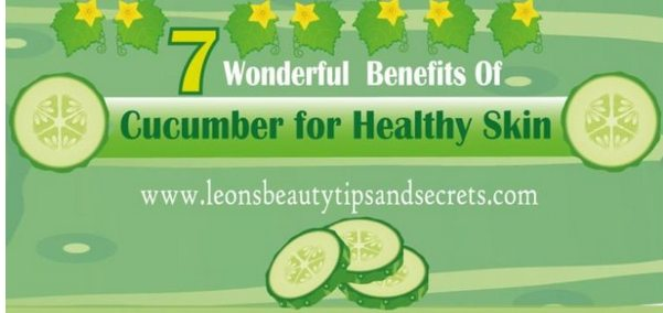 Cucumber Beauty Treatments